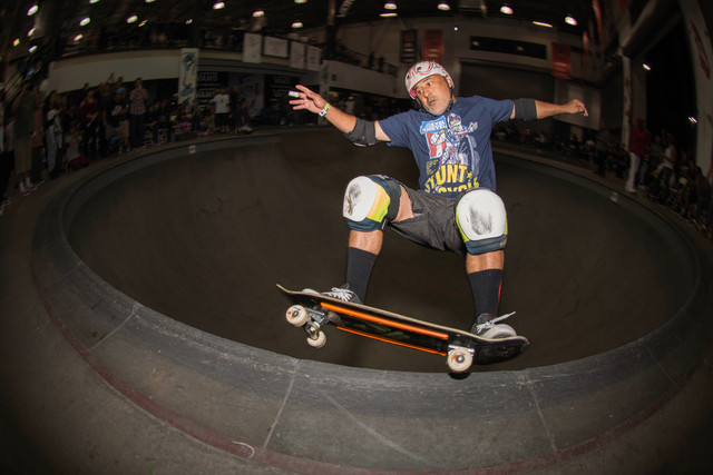 OG Steve Caballero ... Christian Hosoi's 50th Birthday..Vans