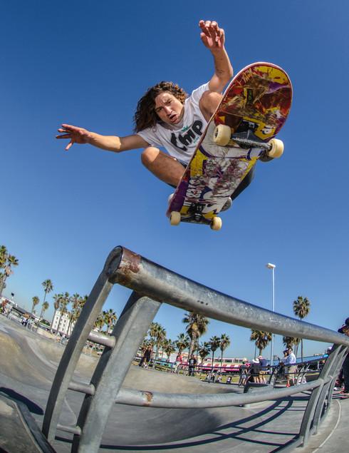 Skater: Jesus Correa Location:Venice Skatepark