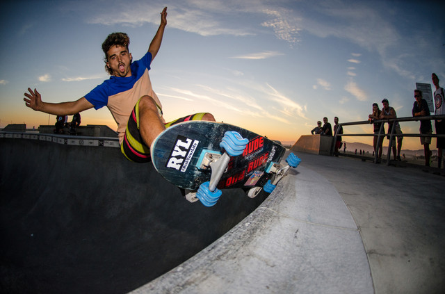 Skater: Brian Waters Location:Venice Skatepark