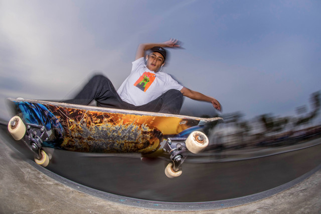 Skater: Carlo Camposs Location:Venice Skatepark