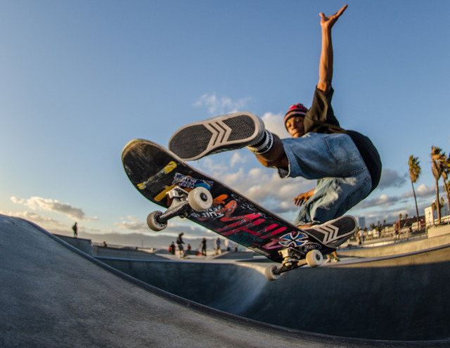 Skater: Kumar Location:Venice Skatepark