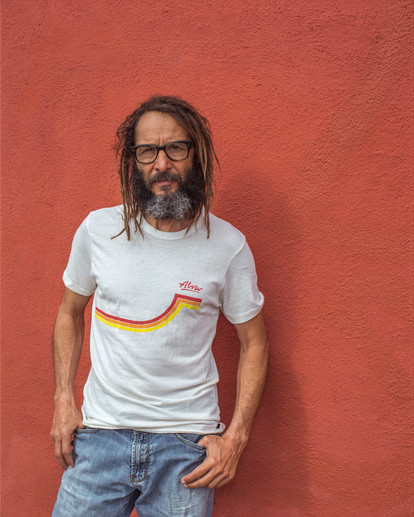 Tony Alva..Promo photo for Dogtown Crew.