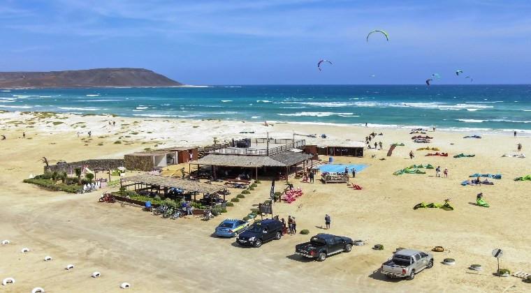 Kapverden Strände: Insel Sal – Kite Beach