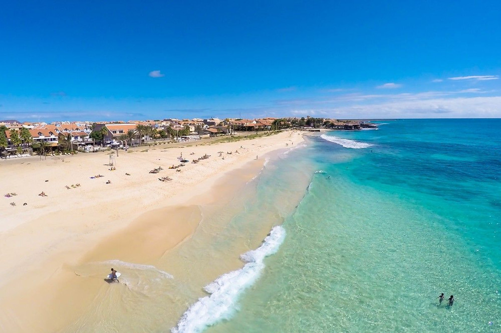 Insel Sal: Praia de Santa Maria Strand