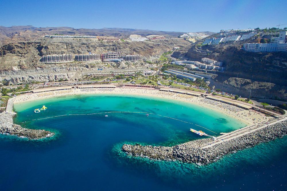 Zählt ganz klar zu den schönsten Stränden Gran Canarias: der Playa de Amadores.