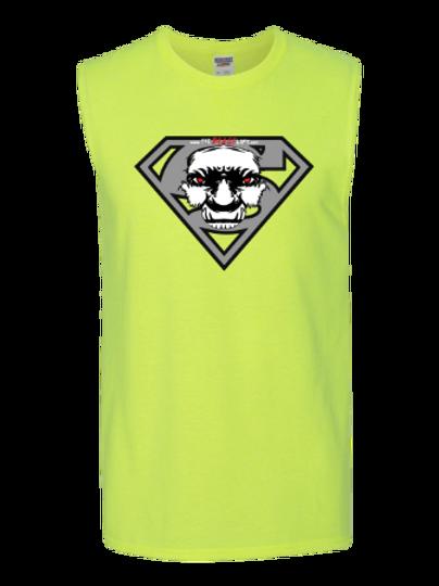 SUPERBEAST SLEEVELESS NEON T-SHIRT