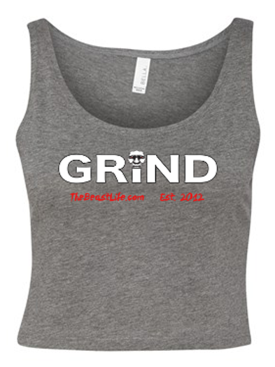 GRIND BEAST WOMEN'S CROP TOP