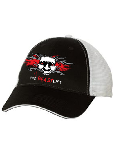 THE BEAST LIFE TRUCKER HAT