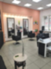 Салон красоты Ле'он, парикмахерский зал