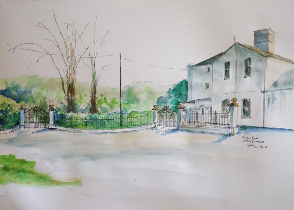 entrance sketch-1