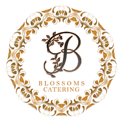 Blossoms Catering Logo Circle Black - Co