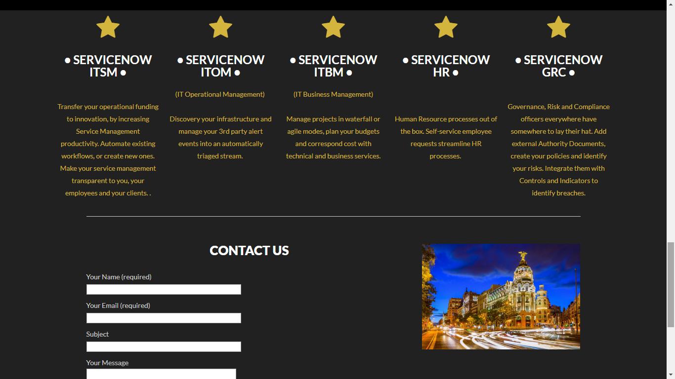 Shapera Website Services - Contact