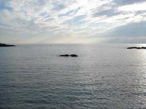 Fiascherino the sea.JPG