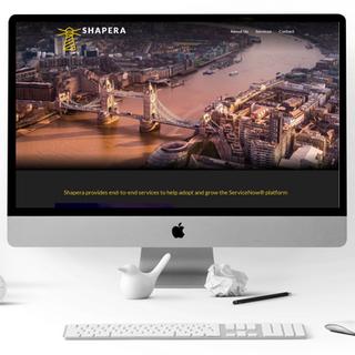 Shapera Ltd -Website Design