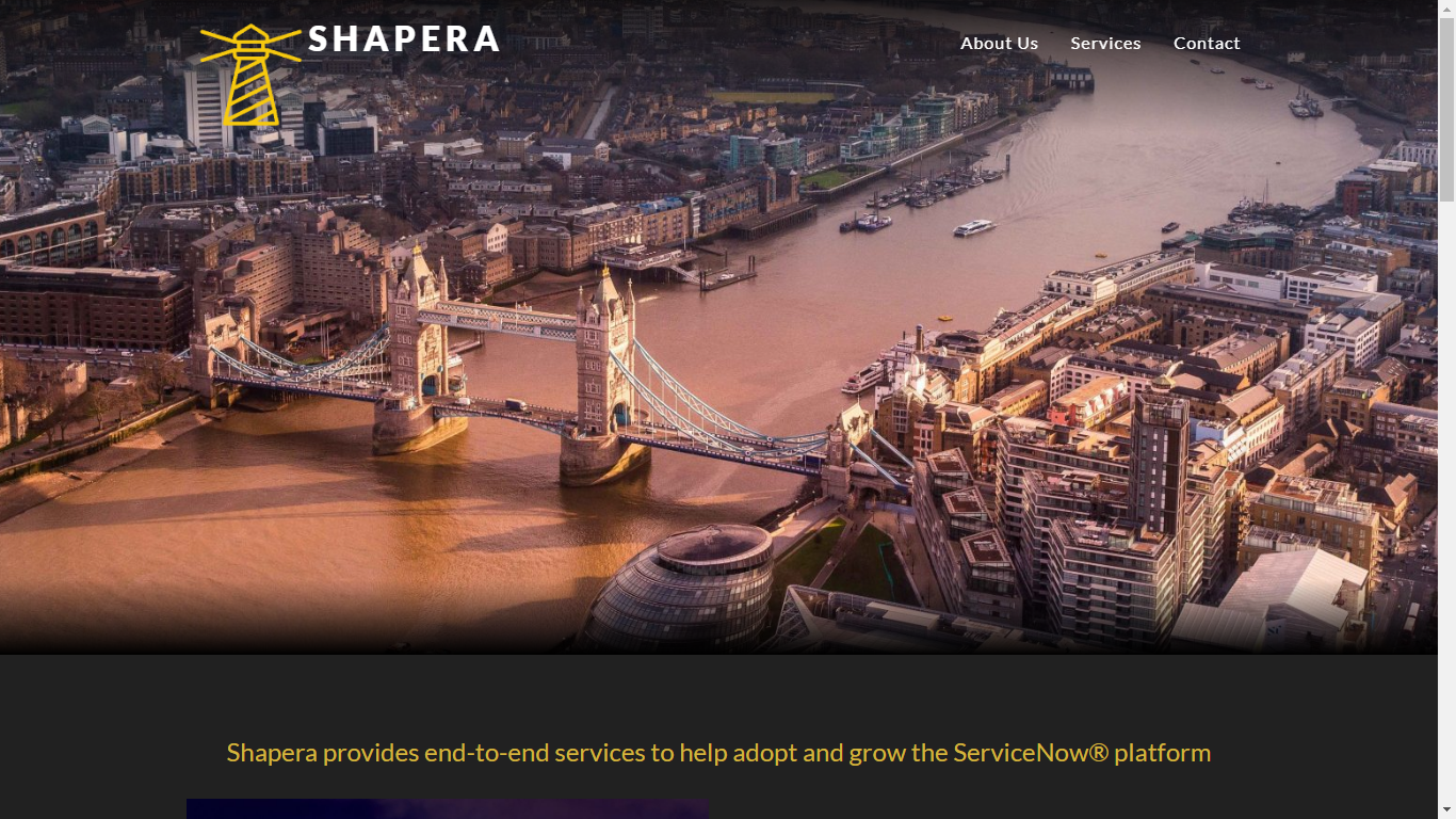 Shapera Home Page