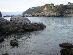 Fiascherino, beautiful small beach Rivie