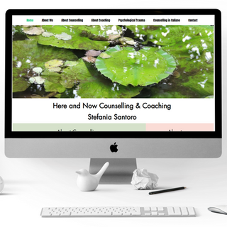 Counselling Here & Now - Website Design