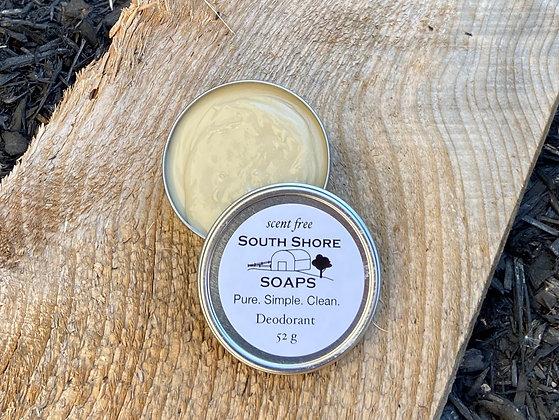Natural Deodorant Scent Free