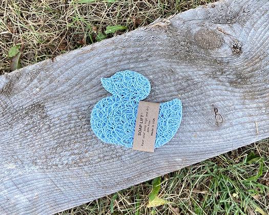 Seaside Blue Duck Soap Lift