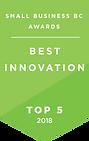 Awards 2017-18 - Top 5 Decal - Innovatio