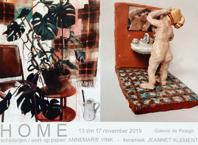 HOME - Annemarie Vink & Jeannet Klement 13 t/m 17 november 2019