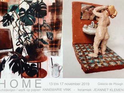 HOME - Annemarie Vink & Jeannet Klement 13 t/m 17 november 2019