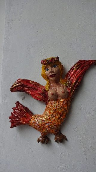 Bird Woman Red 2018