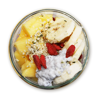 COCONUT CHIA PUDDING WITH MCT & COLLAGEN