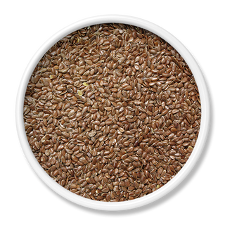 WHOLE & GROUND BROWN FLAX SEEDS