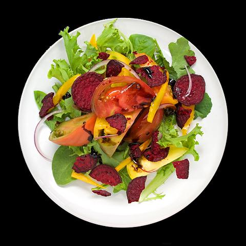 Heirloom Tomato and Beet Salad