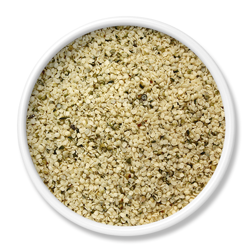 SHELLED & TOASTED HEMP SEEDS