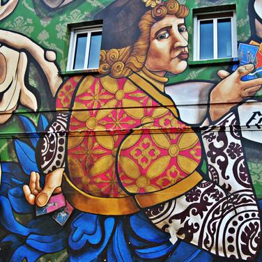 Mural 'El triunfo de Vitoria'