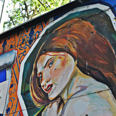 Mural 'Somos agua, somos arte'