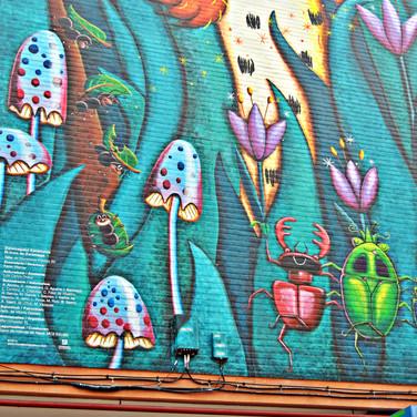 Mural 'El lince de Zaramaga'
