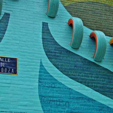 Mural 'Usted está aquí'