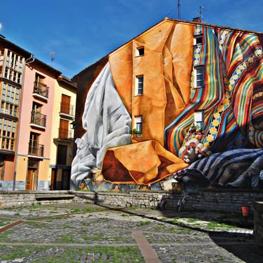 Mural 'Al hilo del tiempo'