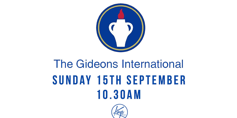 Sunday Service with the Gideons - 15th September
