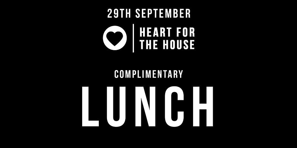 Lunch - 29th September