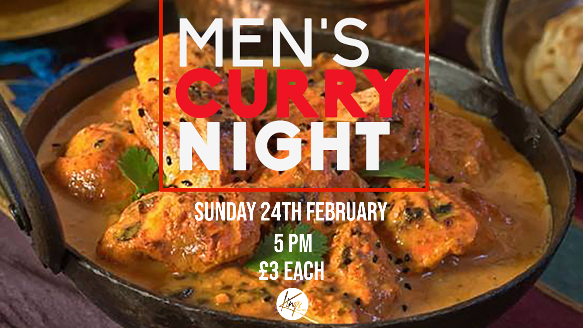 Men's Curry Night