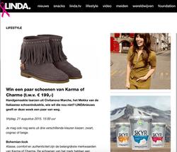 Karma of Charme competition on Linda