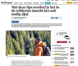 Running Wild with Bear Grylls op Telegraaf.nl