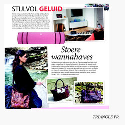 Kien & Campomaggi in Gloss magazine