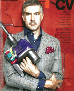 Dutch Actor Leopold Witte with Dyson