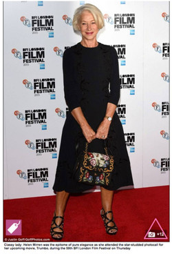 Helen Mirren in Sargossa