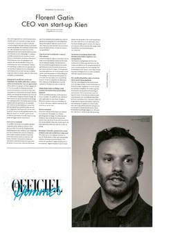 Interview Kien CEO in L'Officiel