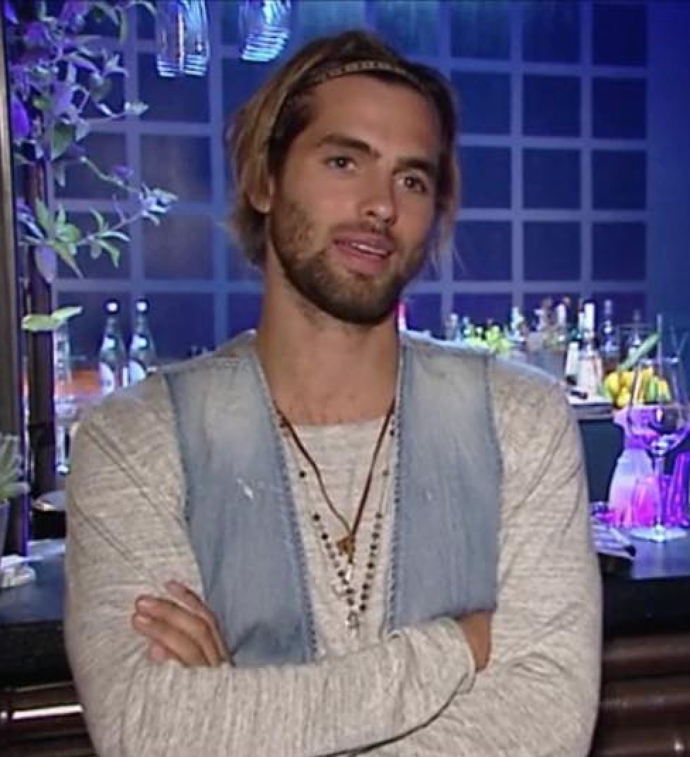Manuel Broekman wearing Amen jewelry