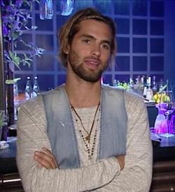 Manuel Broekman wearing Amen jewelry