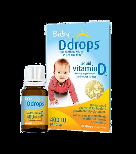 Ddrops 嬰兒維他命 D3 滴劑