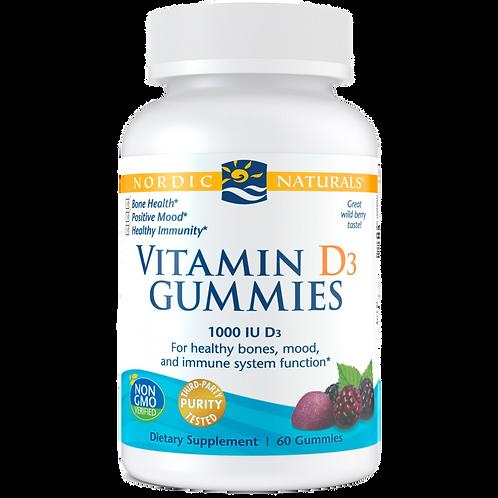 Nordic Naturals Vitamin D3 Gummies 60ct