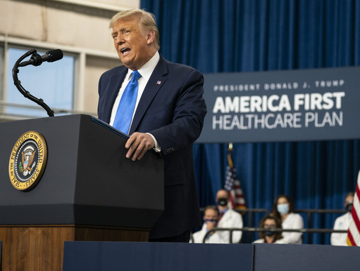 President Trump Issues Health Care Plan in an Executive Order